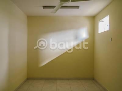 1 Bedroom Flat for Rent in Al Nakhil, Ajman - One bed room And Hall For Rent In AL nakheel 1 - local building - Ajman