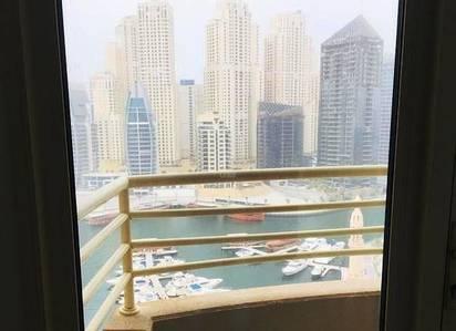 1 Bedroom Flat for Rent in Dubai Marina, Dubai - Balcony