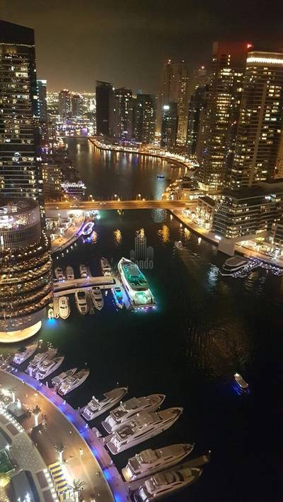 Studio for Rent in Dubai Marina, Dubai - Full Marina View Fully Furnished Studio
