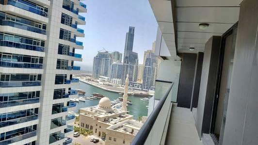 2 Bedroom Flat for Rent in Dubai Marina, Dubai - CHILLER FREE 2 BEDROOM IN HIGHER FLOOR