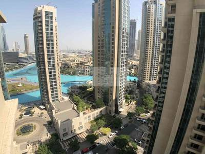 1 Bedroom Flat for Sale in Downtown Dubai, Dubai - Fountain View from Your 1 BR in 29 Blvd.