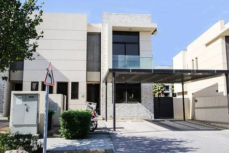 3 Bedroom Villa for Rent in DAMAC Hills (Akoya by DAMAC), Dubai - Cheapest 3BR+Maid|Single Raw| Pay 4 chqs