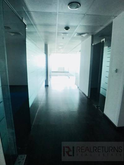 Office for Rent in Jumeirah Lake Towers (JLT), Dubai - Good size and partitioned office.