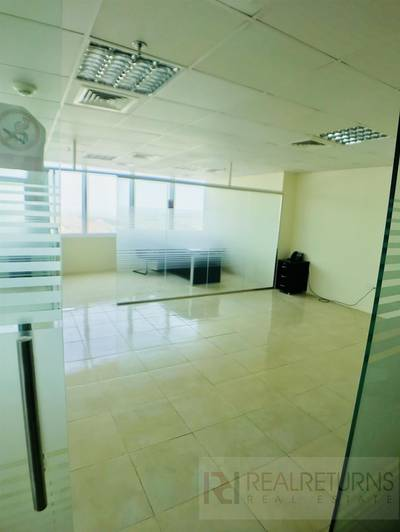 Office for Rent in Jumeirah Lake Towers (JLT), Dubai - Fully Fitted and partitioned office