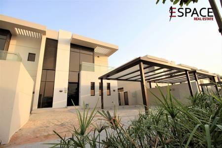 3 Bedroom Villa for Rent in DAMAC Hills (Akoya by DAMAC), Dubai - Near Park and Pool - Vacant - Single Row