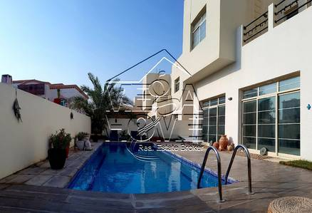5 Bedroom Villa for Rent in Khalifa City A, Abu Dhabi - LUXURIOUS- 5 Master Bed with Private pool and Parking 2 Car\s