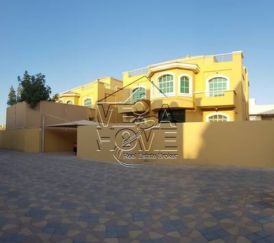 5 Bedroom Villa for Rent in Khalifa City A, Abu Dhabi - 5-MBR VILLA W/PRIVATE ENTRANCE AND DRIVER ROOM