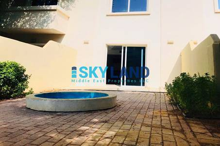 2 Bedroom Villa for Rent in Al Reef, Abu Dhabi - hot deal 2beds single row private garden