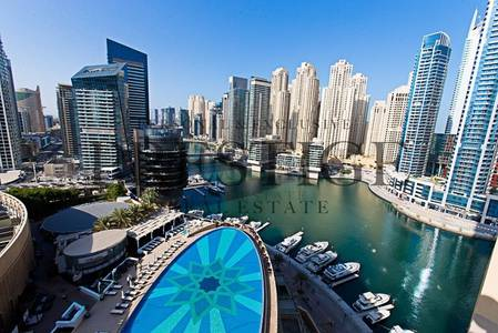 1 Bedroom Apartment for Rent in Dubai Marina, Dubai - The Address |Marina View| Bills included