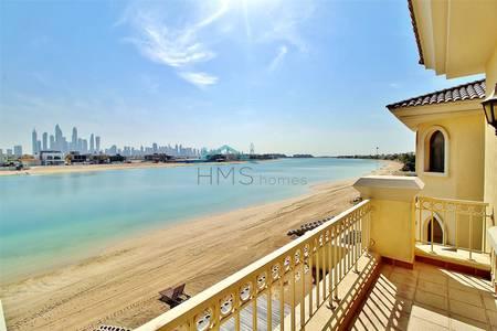 4 Bedroom Villa for Rent in Palm Jumeirah, Dubai - Marina View | Atrium Entry | 4 Cheques