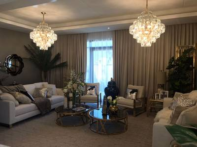 4 Bedroom Villa for Sale in DAMAC Hills (Akoya by DAMAC), Dubai - (( Furnished))villa for Sale in Biggest green community in All UAE. BOOK NOW