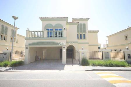 5 Bedroom Villa for Sale in Jumeirah Village Triangle (JVT), Dubai - Canal Facing Extended Five Bedroom Villa