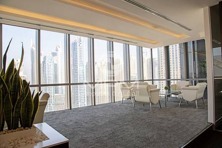 Office for Sale in Dubai Marina, Dubai - Fully Fitted Office space for sale signature loaction
