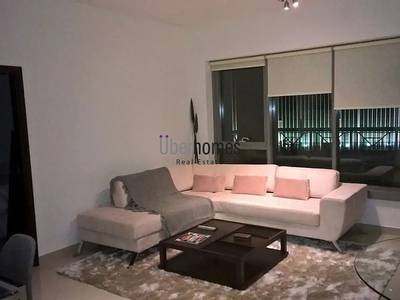 1 Bedroom Flat for Rent in Downtown Dubai, Dubai - Fully furnished 1BR apt w/ fountain view