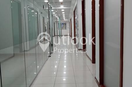 Office for Rent in Sheikh Khalifa Bin Zayed Street, Abu Dhabi - FURNISHED OFFICE for RENT in Khalifa St near Pizza Hut!