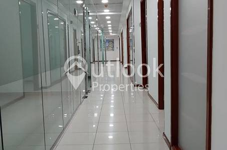 Office for Rent in Sheikh Khalifa Bin Zayed Street, Abu Dhabi - MONTHLY FURNISHED with SEA VIEW Office Space for RENT!