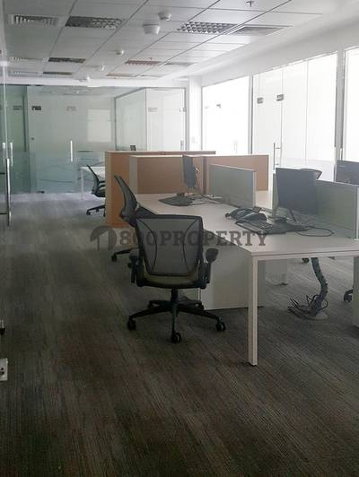 Office for Rent in Dubai Internet City, Dubai - Fully Fitted and Furnished Office Space in a Grade A Building
