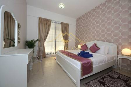 1 Bedroom Apartment for Rent in Dubai Marina, Dubai - Higher Floor 1 bedroom Fully Furnished in Escan Tower