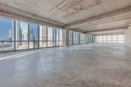 Office for Rent in Downtown Dubai, Dubai - 130AED/SqFt | Shell and Core w/ SZR View