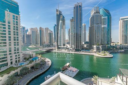 3 Bedroom Flat for Rent in Dubai Marina, Dubai - Spacious and Bright 3BR|Full Canal Views