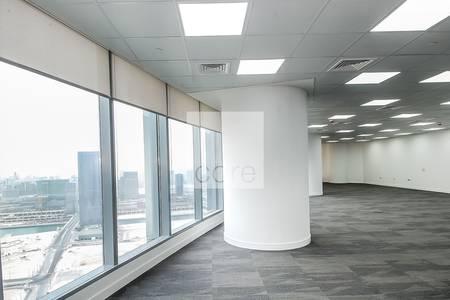 Office for Sale in Al Reem Island, Abu Dhabi - Sea Views | High Floor | Fitted Office