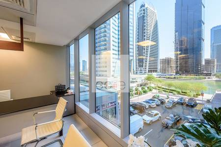 Office for Rent in Jumeirah Lake Towers (JLT), Dubai - Fully Furnished Office | Low Floor | DMCC