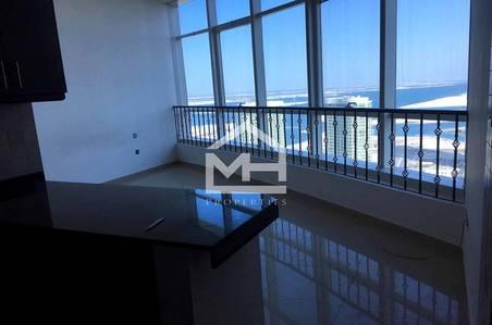 استوديو  للايجار في جزيرة الريم، أبوظبي - Vacant Studio with Sea View in Hydra Ave