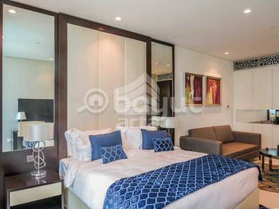 Studio for Sale in Downtown Dubai, Dubai - Down Town  & Garden View - Fully Furnished  Apt.