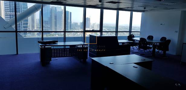 Office for Rent in Jumeirah Lake Towers (JLT), Dubai - Vacant  Furnished & Fitted  Large Office
