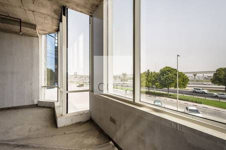 Floor for Rent in Sheikh Zayed Road, Dubai - Full Floor   Shell and Core Office   DED