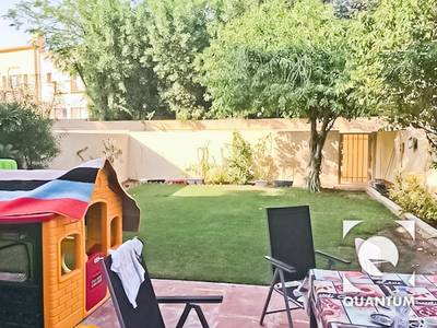 3 Bedroom Villa for Rent in The Springs, Dubai - Park And Pool Facing|3M|Well Maintained