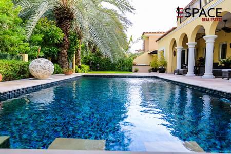 5 Bedroom Villa for Sale in Green Community, Dubai - Immaculate Villa | Close to Main Park | VOT