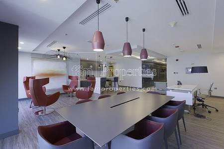 Floor for Rent in Business Bay, Dubai - Fully Furnished Full Floor | Regal Tower