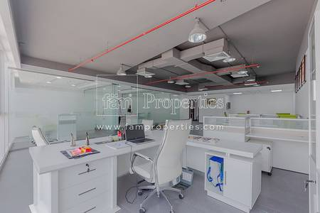 Office for Sale in Business Bay, Dubai - Rented Furnished Office for Sale|7% ROI