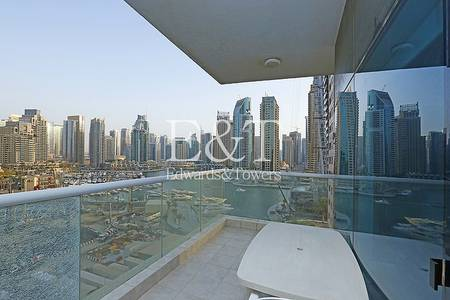 2 Bedroom Flat for Rent in Dubai Marina, Dubai - Huge Size 2BR with Marina View