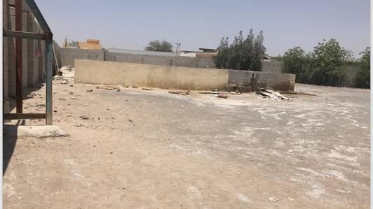 Industrial Land for Rent in Al Saja, Sharjah - 31k sqft land with baundrywall bathroom kitchen