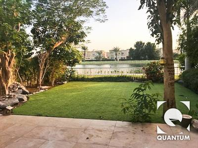 3 Bedroom Villa for Rent in The Springs, Dubai - Upgraded Full Lake View|1E|Pool Opposite