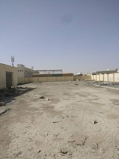 Industrial Land for Rent in Al Saja, Sharjah - 20000 SQFT OPEN YARD NO POWER OFFICE BOUNDARY WALL IN SAJAA SHARJAH