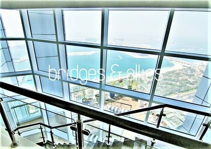 4 Bedroom Flat for Rent in Dubai Marina, Dubai - Incredible 4 Bed Duplex + Maid | AC Free