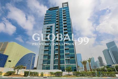 2 Bedroom Flat for Rent in Al Reem Island, Abu Dhabi - Brand new!2+M w/close kitchen+balcony. 4chqs