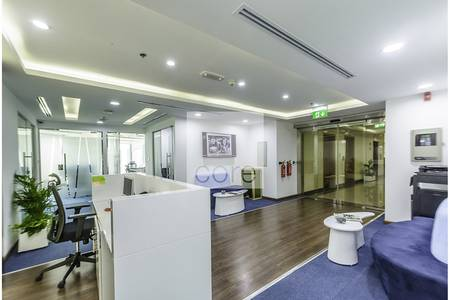 Corner fully furnished office  XL Tower