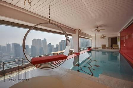 4 Bedroom Penthouse for Rent in Dubai Marina, Dubai - Large Luxurious Penthouse. Full marina view.
