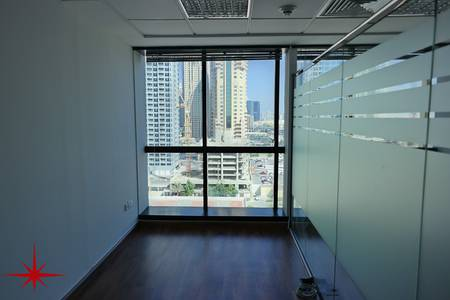 Office for Sale in Jumeirah Lake Towers (JLT), Dubai - Fully Fitted Office with Community Views