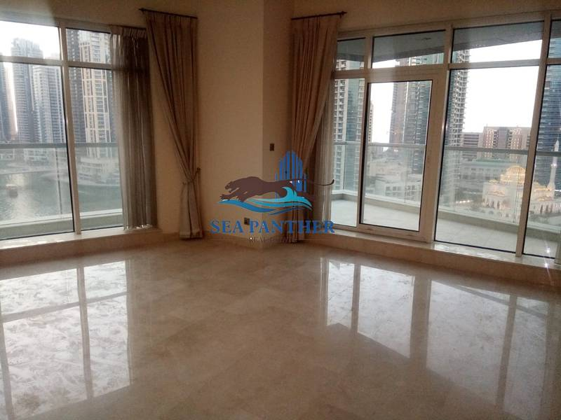 Well Kept 3BR Apt plus Maids Room and Marina View