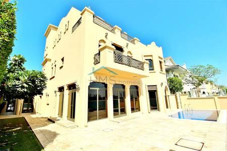 5 Bedroom Villa for Rent in Palm Jumeirah, Dubai - Triple Storey | High Number | Atrium Entry