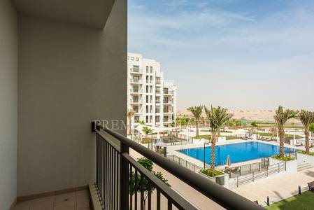 2 Bedroom Flat for Rent in Town Square, Dubai - Brand new 2BR plus Storage with Pool view