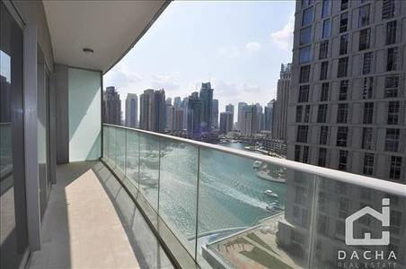 1 Bedroom Flat for Rent in Dubai Marina, Dubai - Marina & Sea Vew  Large Balcony