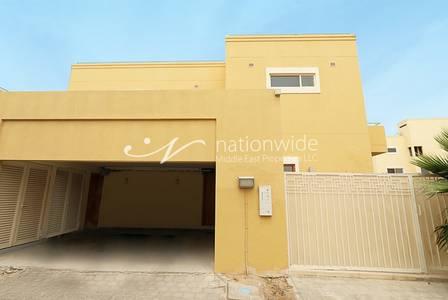 4 Bedroom Villa for Rent in Al Raha Gardens, Abu Dhabi - Vacant Now 4 BR Villa with Maid + Garden