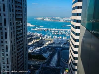 1 Bedroom Apartment for Rent in Dubai Marina, Dubai - High floor sea view 1 bed close to Metro
