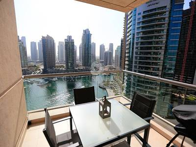 2 Bedroom Apartment for Rent in Dubai Marina, Dubai - Furnished with Stunning Full Marina View